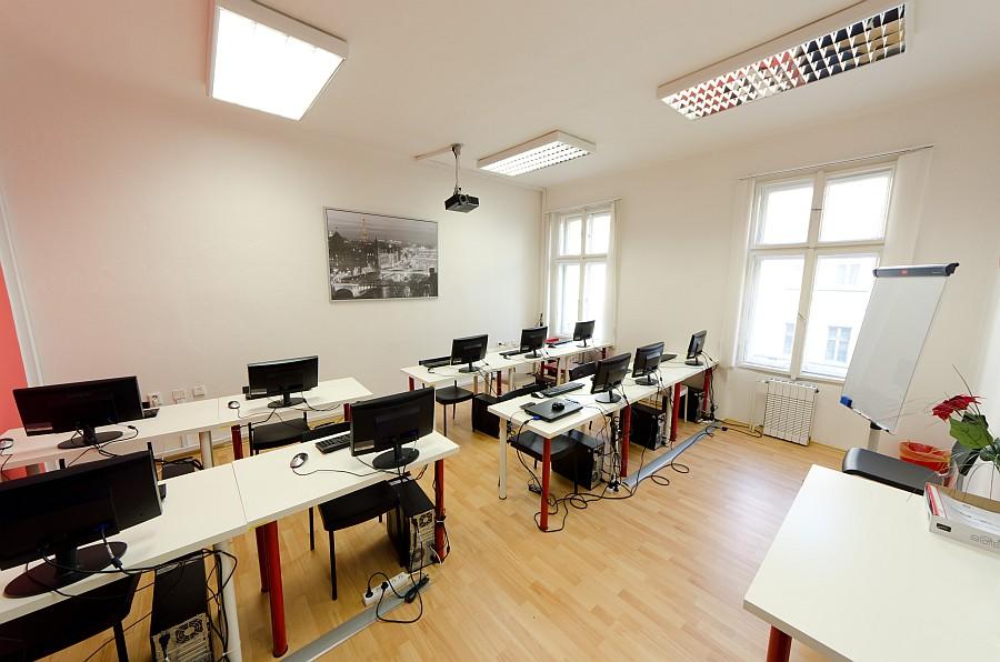 Učební prostory vzdělávacích kurzů